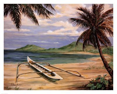 Outrigger Cove-Paul Brent-Art Print