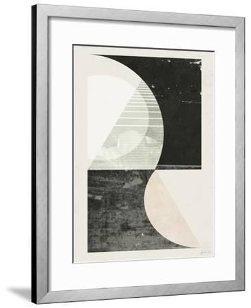Outside In I-Green Lili-Framed Art Print