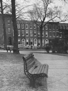 Outside of Journalist Henry L. Mencken's Home