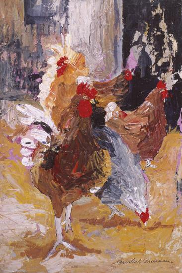 Outside the Barn-Anuk Naumann-Giclee Print