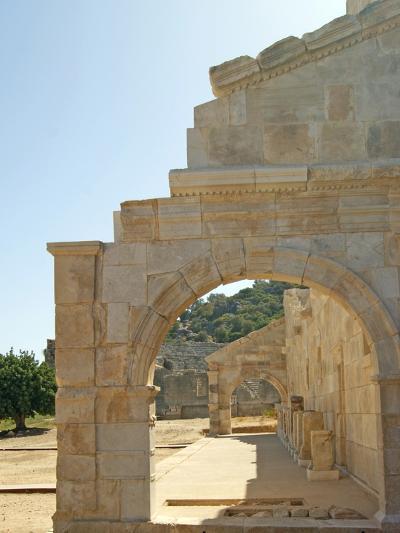 Outside the Bouleuterion, Patara, Turkey--Photographic Print