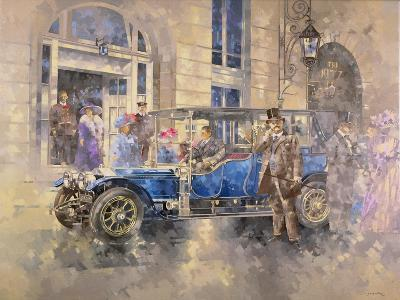 Outside the Ritz-Peter Miller-Giclee Print