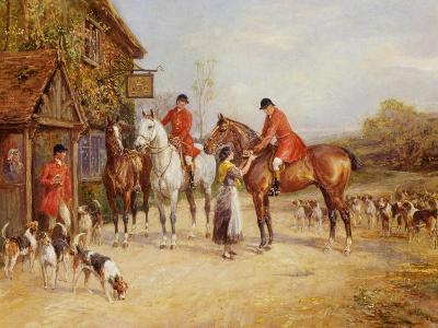 Outside the Three Crowns-Heywood Hardy-Giclee Print