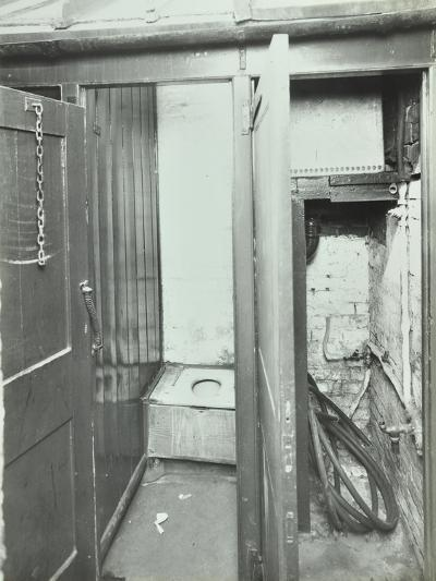 Outside Toilet, Belleville Road School, London, 1936--Photographic Print