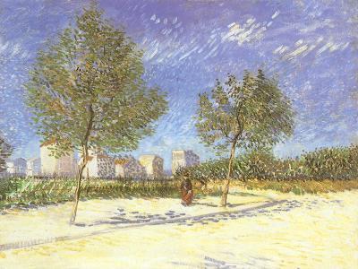 Outskirts of Paris, 1887-Vincent van Gogh-Giclee Print