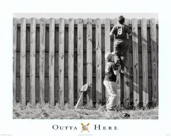 Outta Here--Art Print