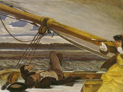 Outward Bound, 19th Century-Augustus Leopold Egg-Giclee Print