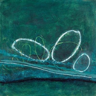 Oval Blues 1-Filippo Ioco-Art Print