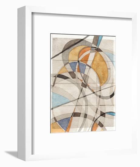Ovals & Lines I-Nikki Galapon-Framed Art Print
