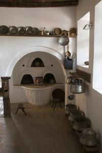 Oven and Copper Pots