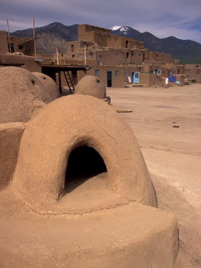 Oven in Taos Pueblo, Rio Grande Valley, New Mexico, USA-Art Wolfe-Photographic Print