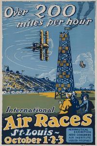 Over 200 Miles Per Hour, 1923 St Louis Air Races