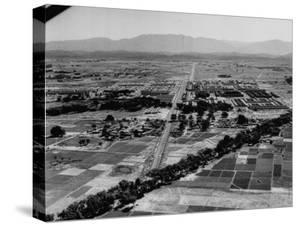 Over-All View of Chandigarh, New Capital City of Punjab