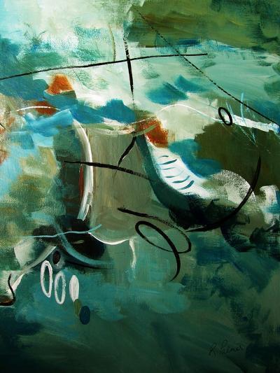 Over Land And Sea II-Ruth Palmer-Art Print