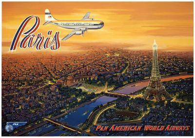 Over Paris-Kerne Erickson-Art Print