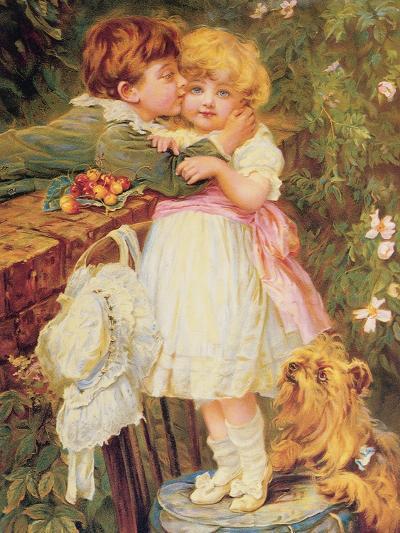 Over the Garden Wall-Frederick Morgan-Giclee Print