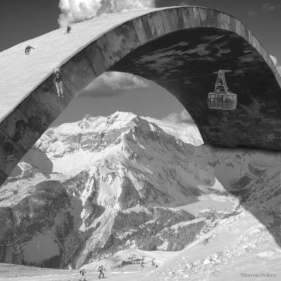 Over the Hill-Thomas Barbey-Giclee Print