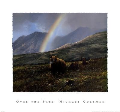 Over the Pass-Michael Coleman-Art Print