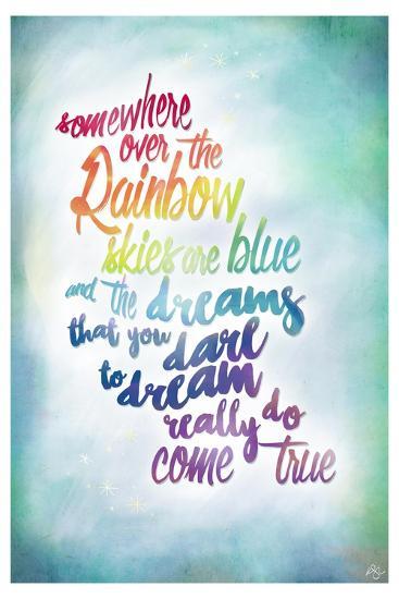 Over the Rainbow-Kimberly Glover-Premium Giclee Print
