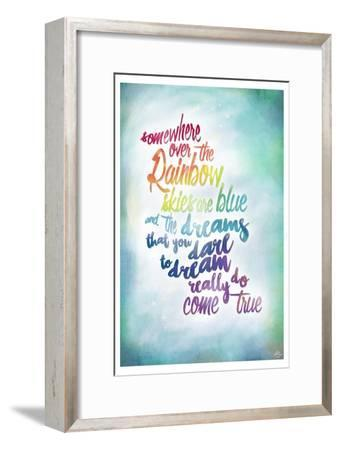 Over the Rainbow-Kimberly Glover-Framed Giclee Print