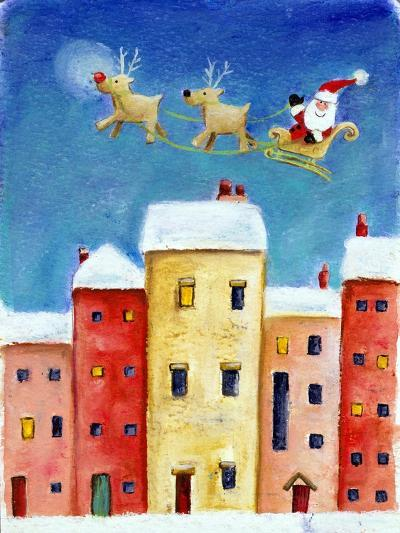 Over the Town, 2002-Clare Alderson-Giclee Print