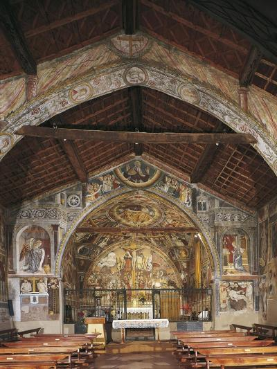 Overall View of Apse and Frescoes--Giclee Print