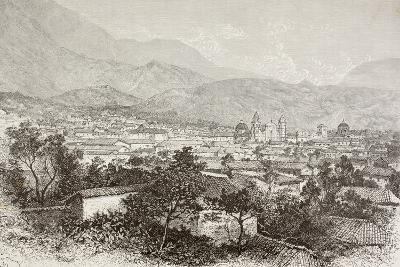 Overall View of Bogota, Colombia-English School-Giclee Print