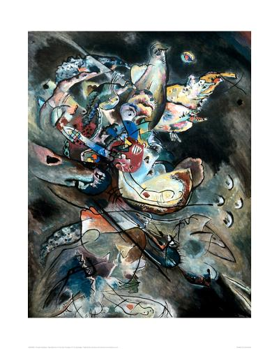 Overcast, 1917-Wassily Kandinsky-Giclee Print