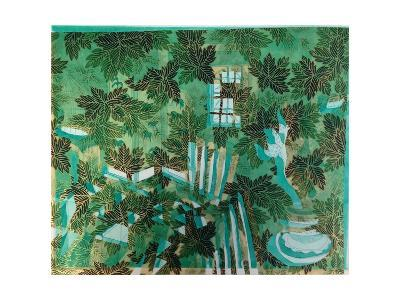 Overgrown Plant Room, 2015, Aquatint Etching with Chine Coll?-Rose Electra Harris-Giclee Print