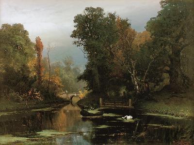 Overgrown Pond (Gatchina Par), 1878-Juli Julievich Klever-Giclee Print