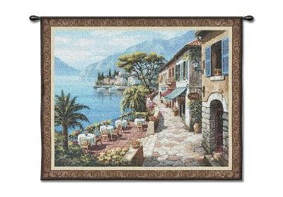 Overlook Cafe-Sung Kim-Wall Tapestry