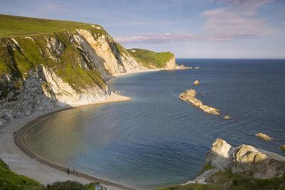 Overlooking Man O War Bay Along the Jurassic Coast, Dorset, England-Brian Jannsen-Photographic Print