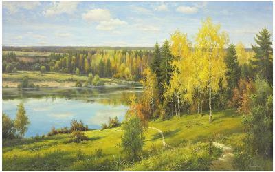 Overlooking The Sea-Igor Priscepa-Art Print