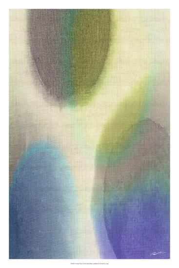 Overtone Blue I-John Butler-Giclee Print