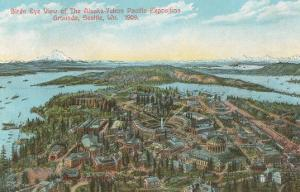Overview of 1909 Exposition, Seattle, Washington