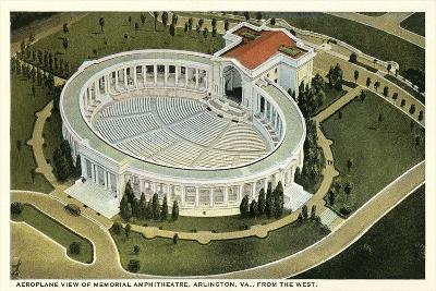 Overview of Arlington Amphitheatre--Art Print