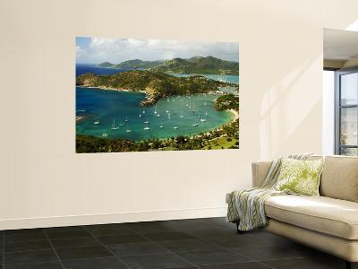 Overview of English Harbour from Shirley Heights-Veronica Garbutt-Wall Mural