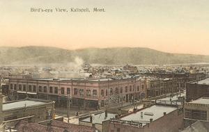 Overview of Kalispell, Montana