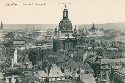 Overview of Old Dresden, Germany--Art Print