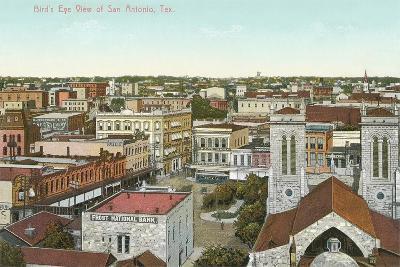 Overview of San Antonio--Art Print