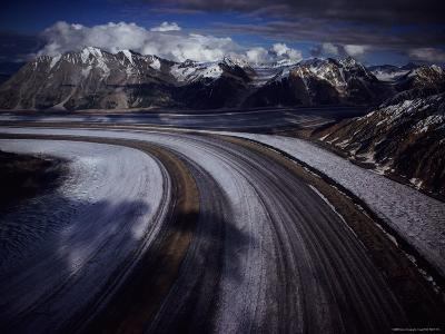Overview of the 45-Mile-Long Kaskawulsh Glacier-Sam Abell-Photographic Print