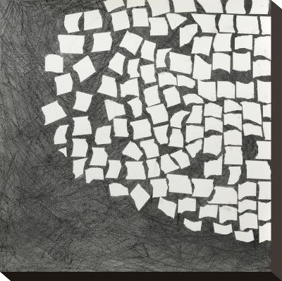 Ovoid Left-Lynn Basa-Stretched Canvas Print