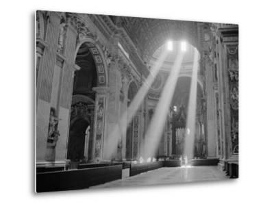 Sunbeams Inside St. Peter's Basilica