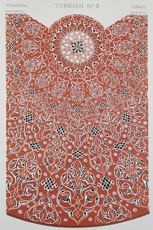 Turkish Style Decoration, Plate XXXVIII from Grammar of Ornament