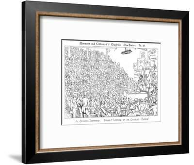 Owen Lecturing-Richard Doyle-Framed Giclee Print