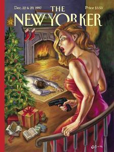 The New Yorker Cover - December 22, 1997 by Owen Smith