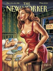The New Yorker Cover - December 23, 1996 by Owen Smith
