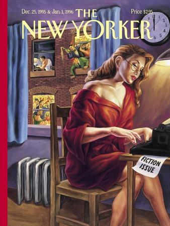 The New Yorker Cover - December 25, 1995