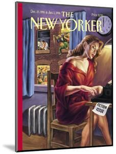 The New Yorker Cover - December 25, 1995 by Owen Smith