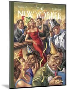 The New Yorker Cover - December 25, 2006 by Owen Smith